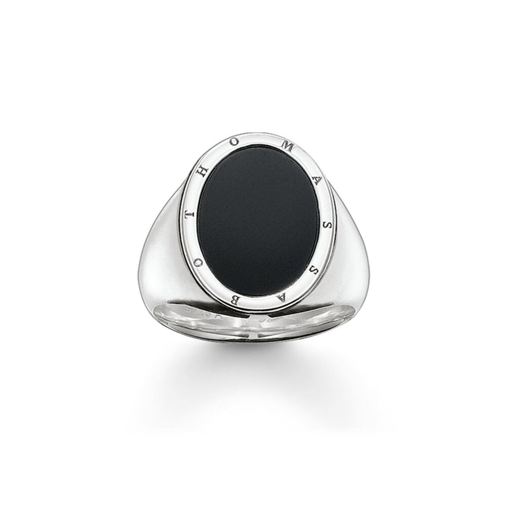THOMAS SABO GENTS STERLING SILVER OVAL