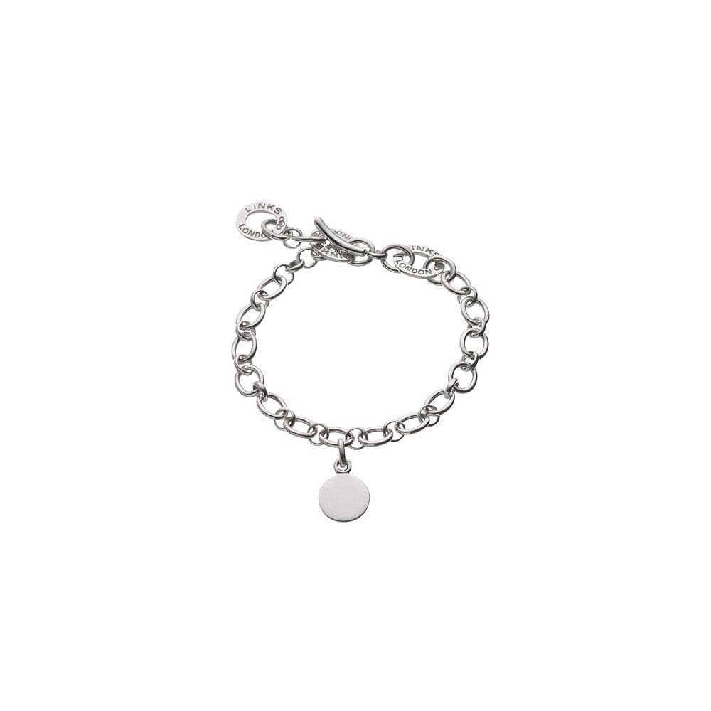 Baby Disc Charm Bracelet